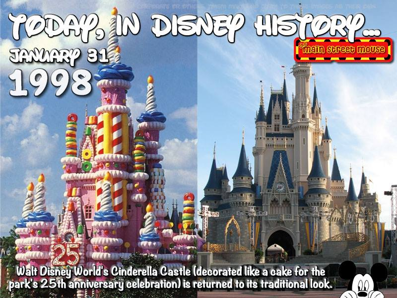 Today In Disney History January 31st