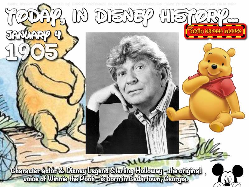 Today In Disney History ~ January 4th 7