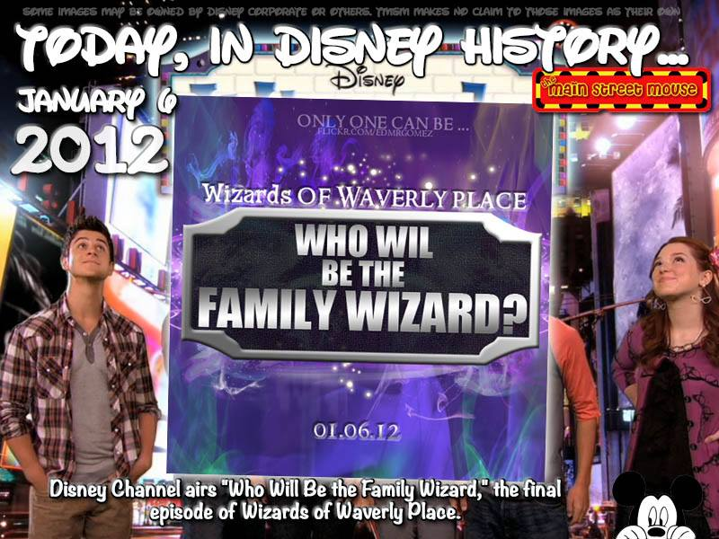 Today In Disney History ~ January 6th 3