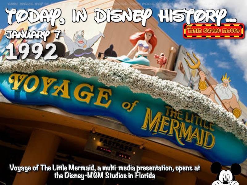 Today In Disney History ~ January 7th 4