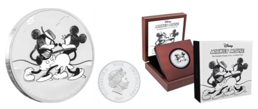New Zealand Mint Presents Mickey Through the Ages – The Gallopin' Gaucho 3