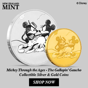 New Zealand Mint Presents Mickey Through the Ages – The Gallopin' Gaucho 20