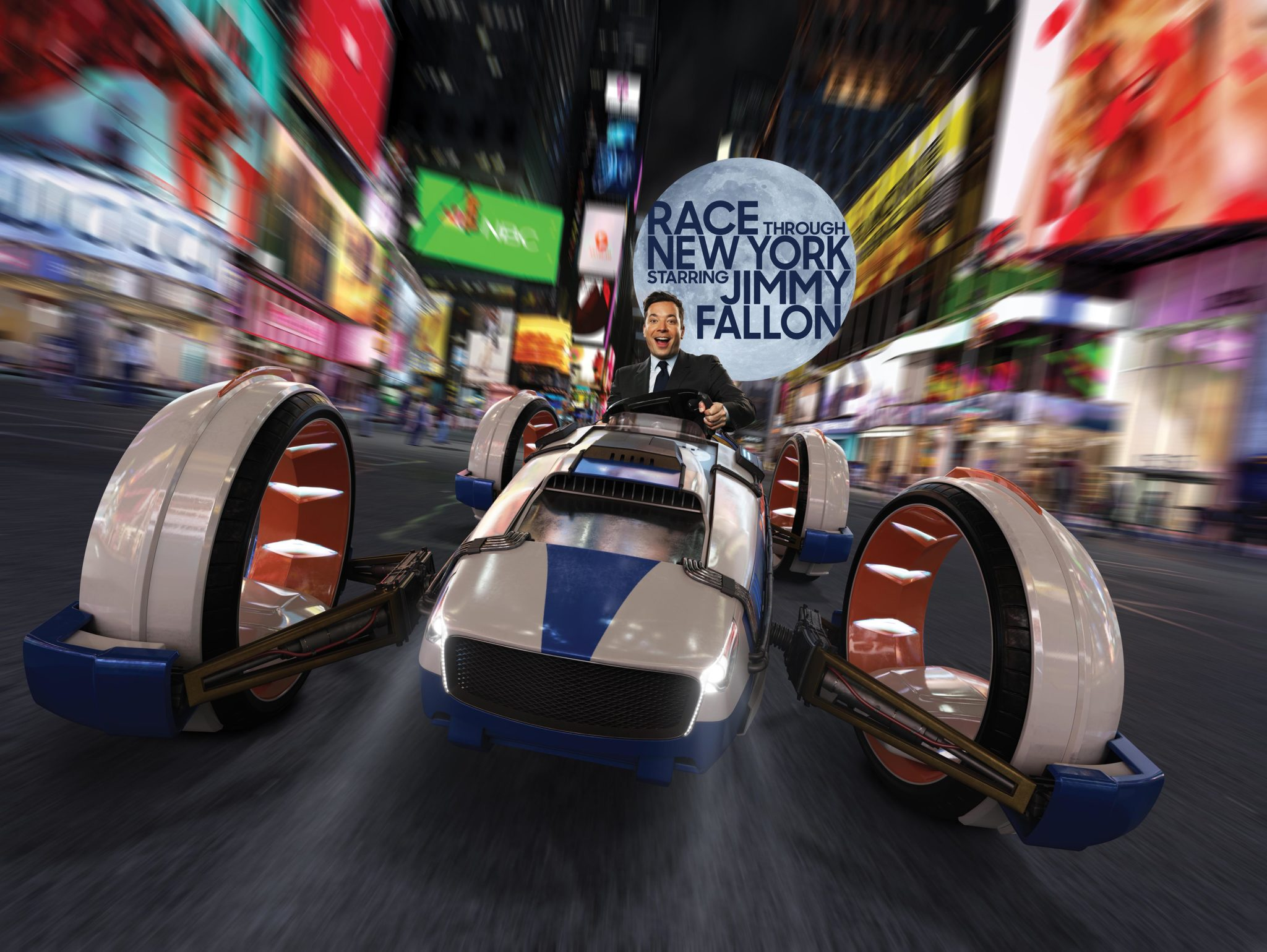 Grand Opening Date Announced for Race Through New York Starring Jimmy Fallon at Universal Orlando #OffTMSM 8