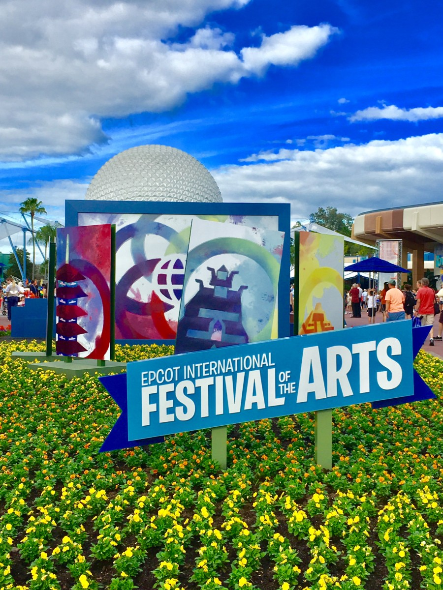 Take a Look at the New Epcot International Festival of the Arts! 7