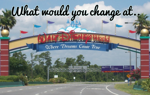What Would You Change About Disney Parks? ~ Read Our Input Below! 1