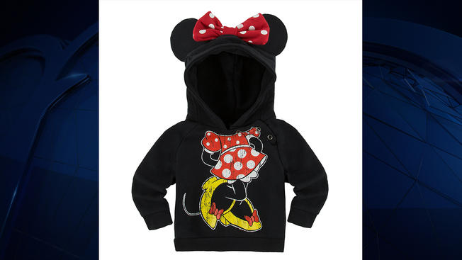 6c3283e4b Walt Disney Parks and Resorts recalls 15K infant Minnie, Mickey Mouse  sweatshirts due to choking
