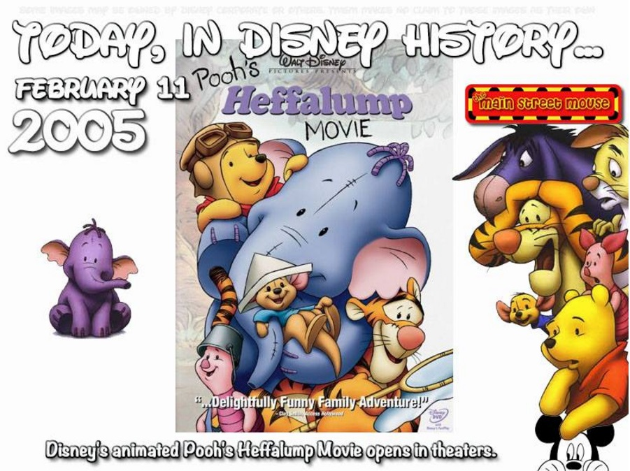 Today In Disney History ~ February 11th 2