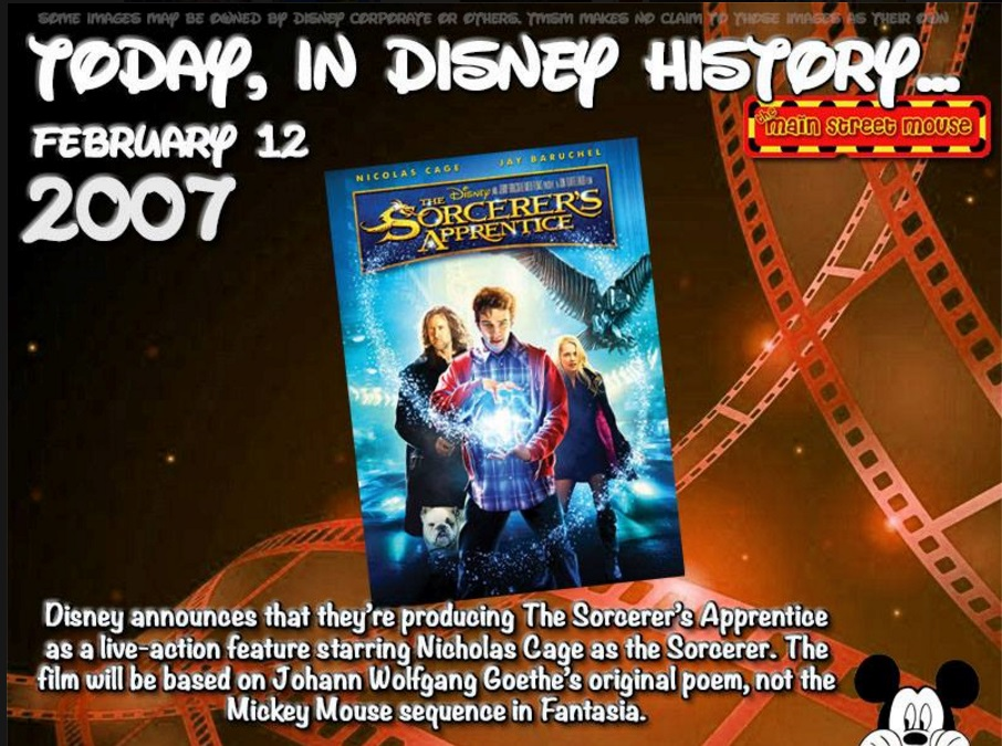 Today In Disney History ~ February 12th 5