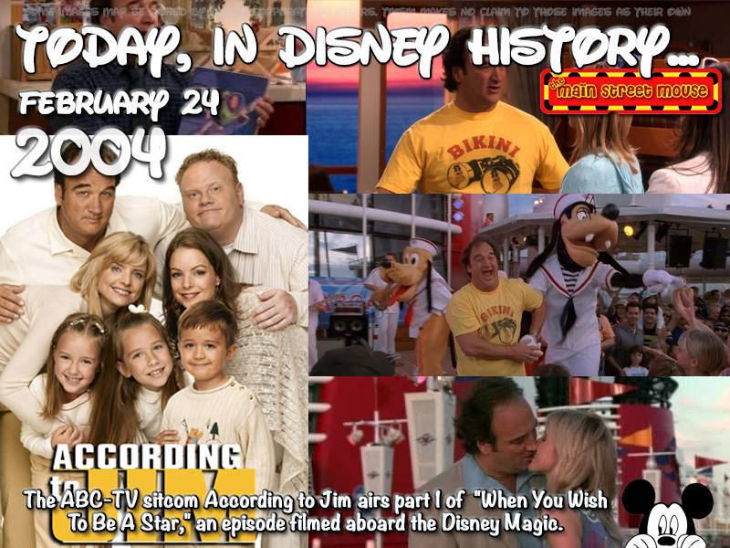 Today In Disney History ~ February 24th 4