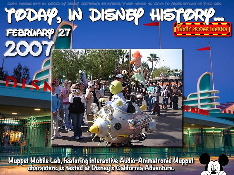 Today In Disney History ~ February 27th 6