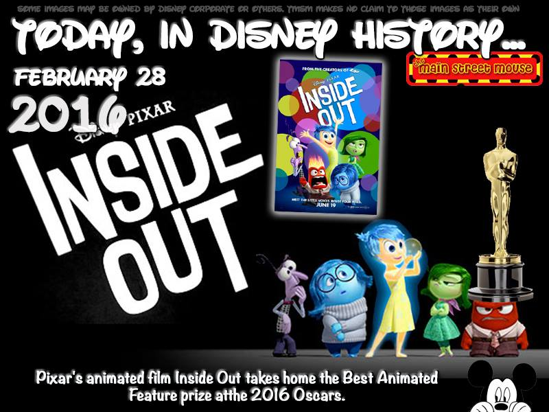 Today In Disney History ~ February 28th 2