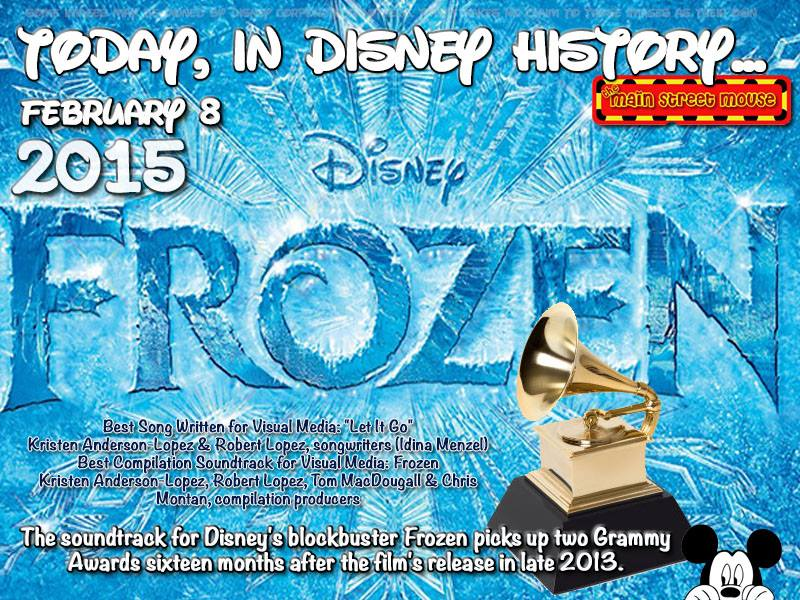 Today In Disney History ~ February 8th 2