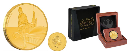 New Zealand Mint Presents Star Wars Classic – Luke Skywalker 3