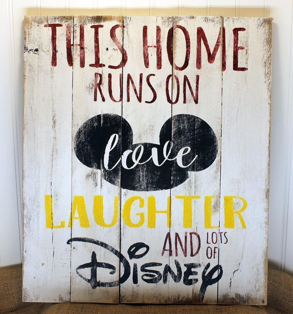 Handmade Disney Wall Art Sign for Your Home 2
