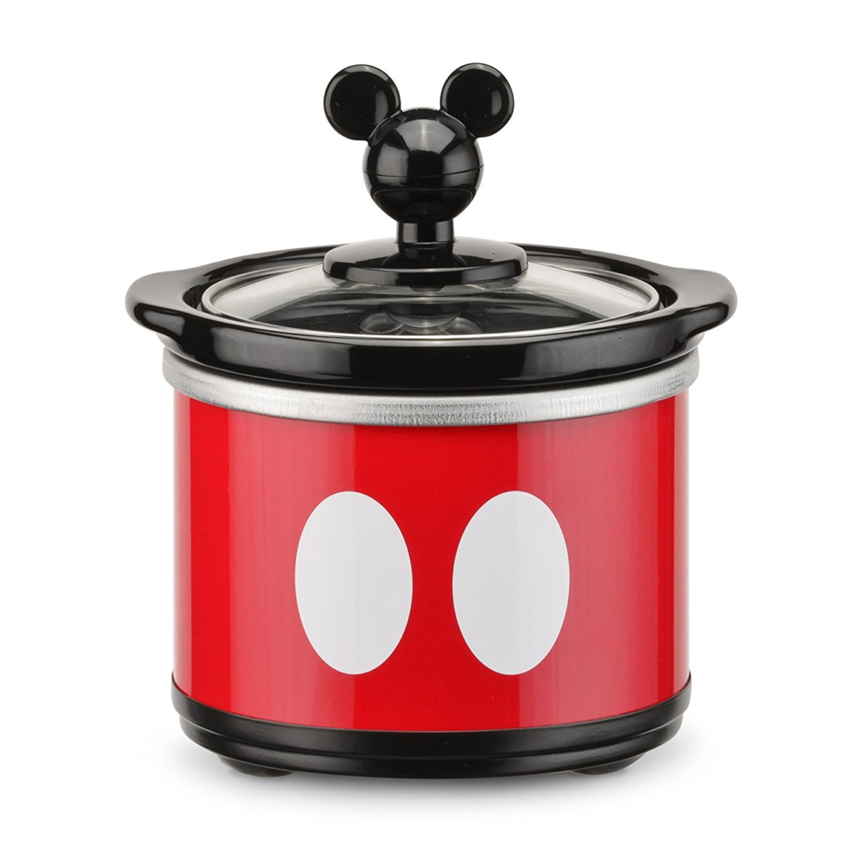 Mickey Mouse 5 quart Oval Slow Cooker with 20 oz Dipper 4