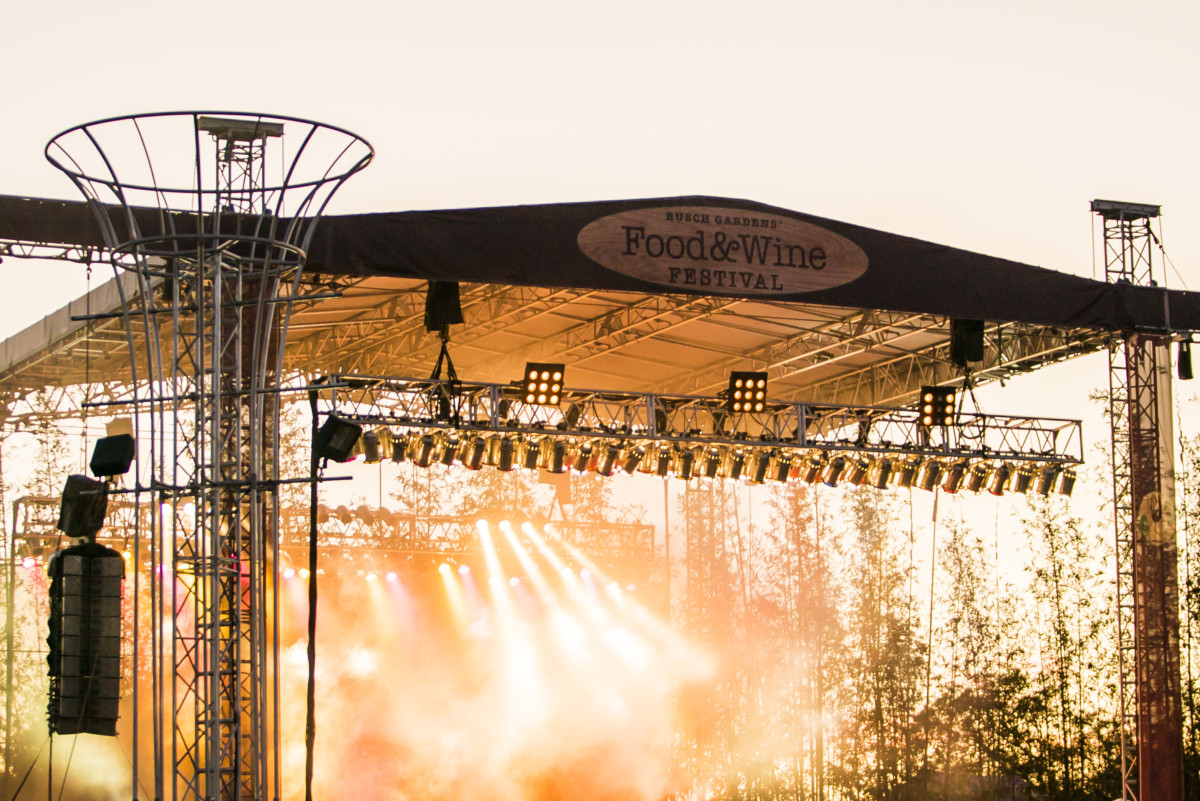 Busch Gardens Tampa Bay Completes Food Wine Festival Concert Lineup The Main Street Mouse