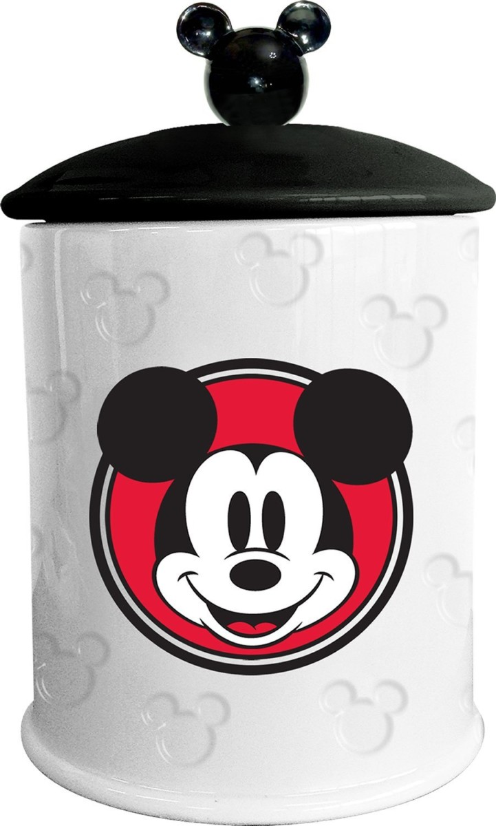 Mickey Mouse Kitchen Appliances Disney Mickey Mouse Embossed Cookie Jar The Main Street Mouse