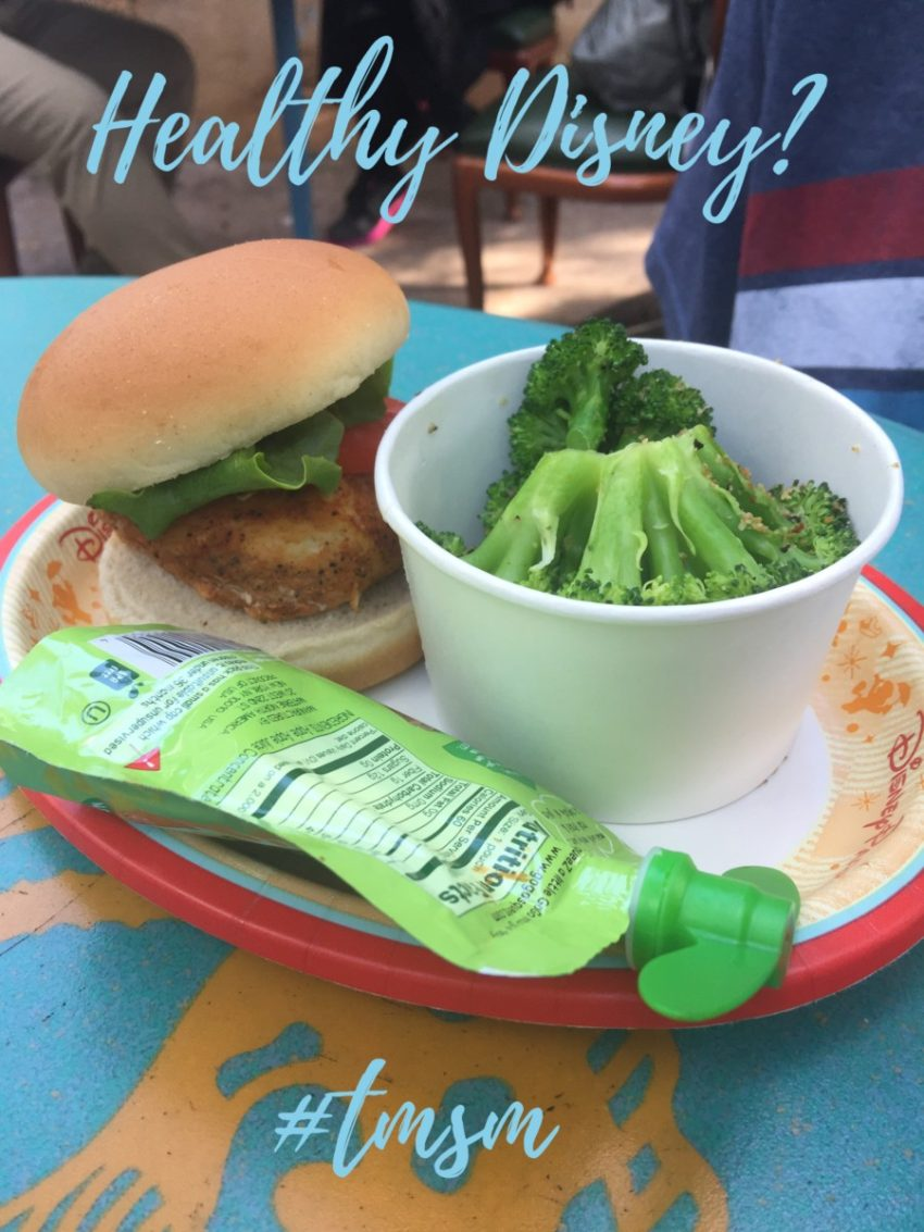 Pushing Healthy Options at Disney ~ My Thoughts 11