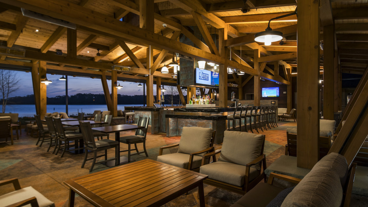 Geyser Point Bar & Grill Now Opens Disney's Wilderness Lodge 6