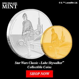 New Zealand Mint Presents Star Wars Classic – Luke Skywalker 45