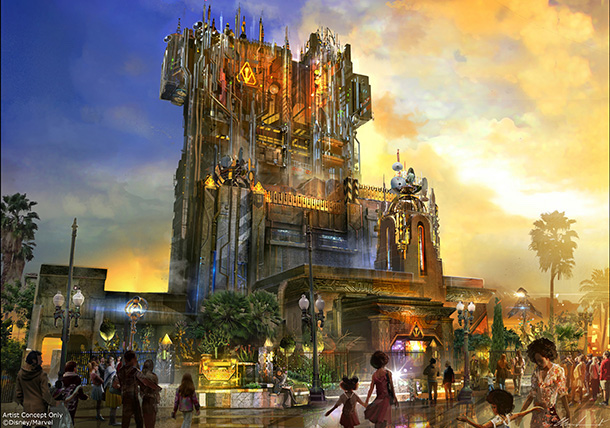 Meet The Collector at Guardians of the Galaxy – Mission: BREAKOUT! Coming to Disney California Adventure Park May 27 18