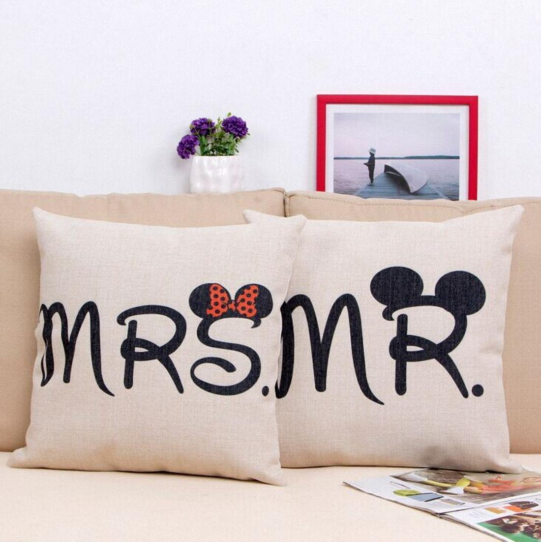 Mickey & Minnie Throw Pillows 2