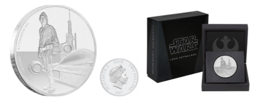 New Zealand Mint Presents Star Wars Classic – Luke Skywalker 2