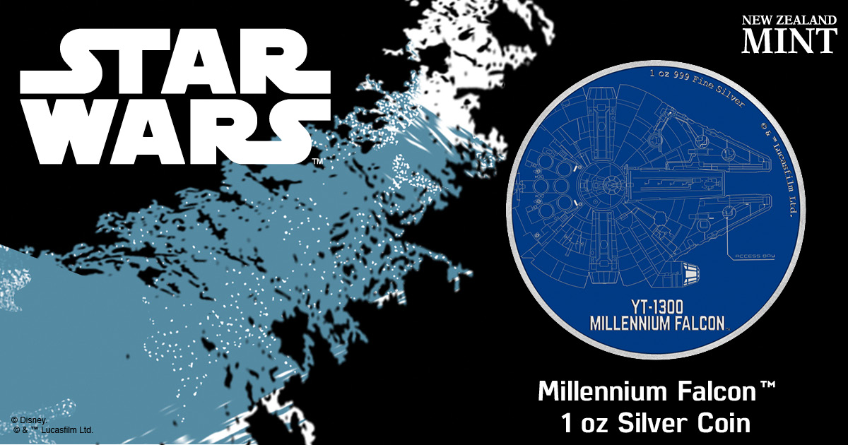 Star Wars Ships coin collection launches with famous Millennium Falcon 3
