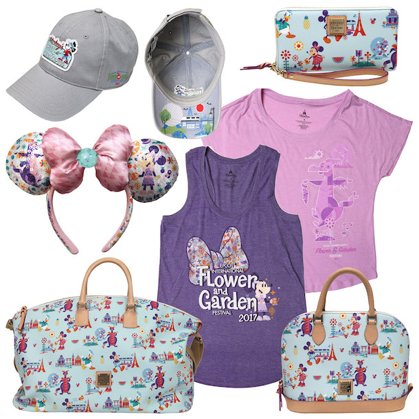 2017 Epcot International Flower & Garden Festival Merchandise Announced 1