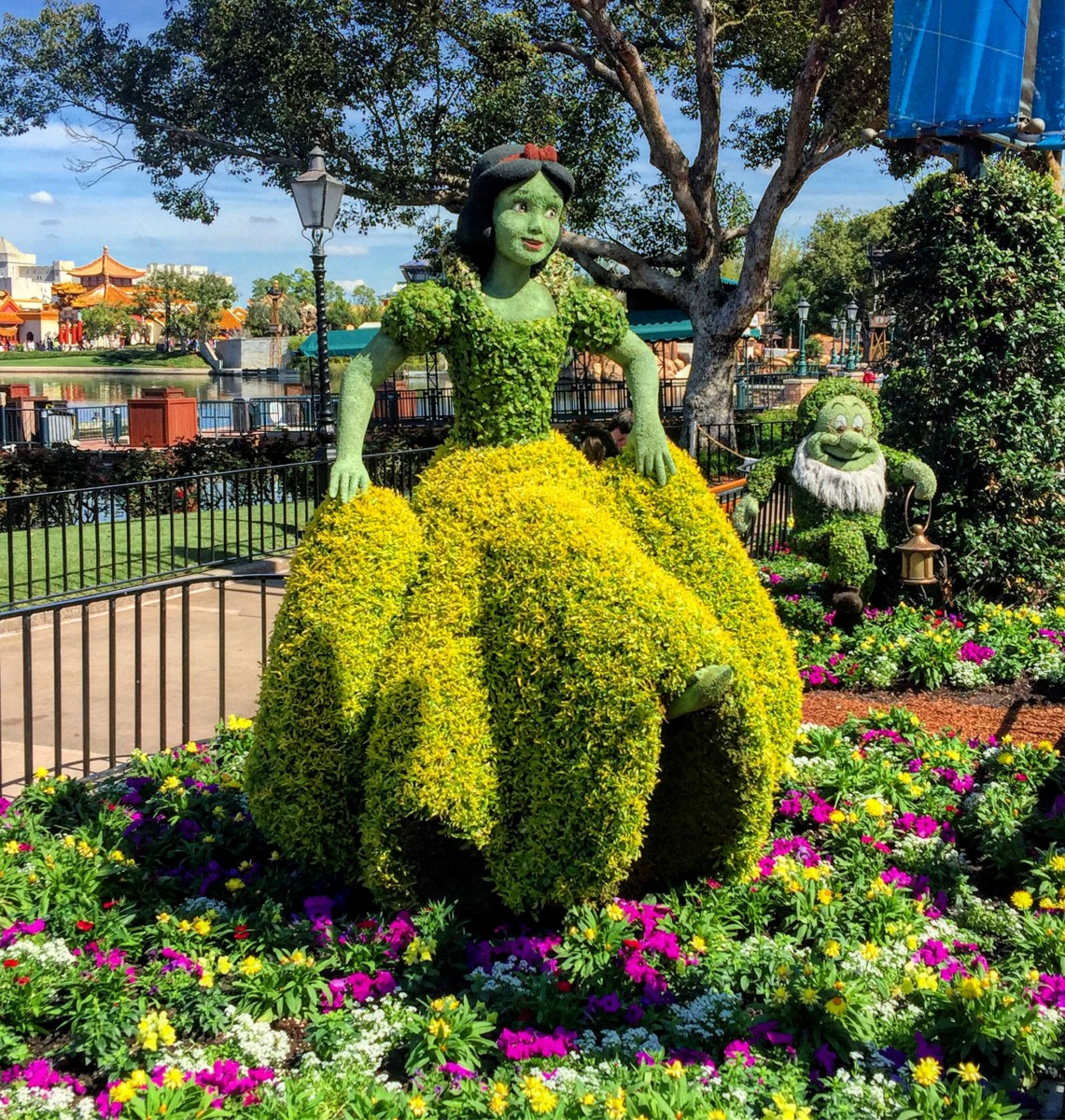Epcot Is Getting Ready For The 2017 Flower And Garden Fest Take A Look Below The Main Street