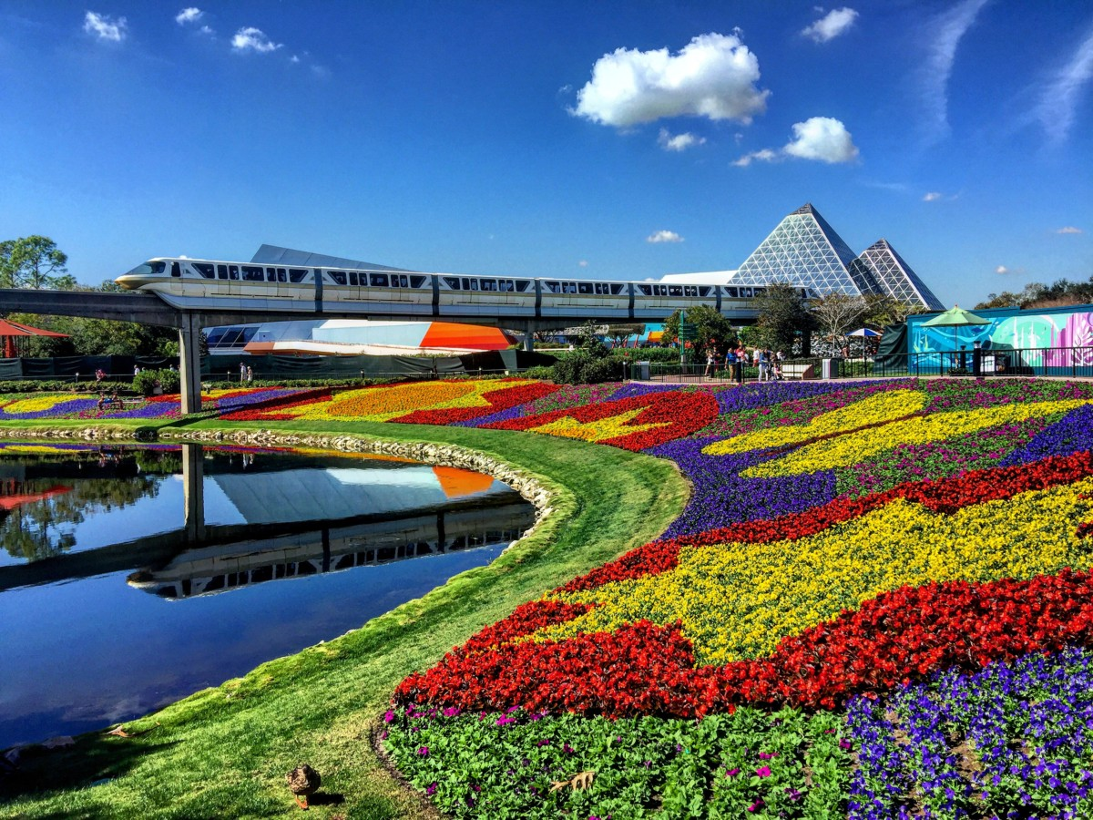 90 Days of Spring Beauty Will Bloom at The 25th Epcot International Flower & Garden Festival Feb. 28 – May 28 1