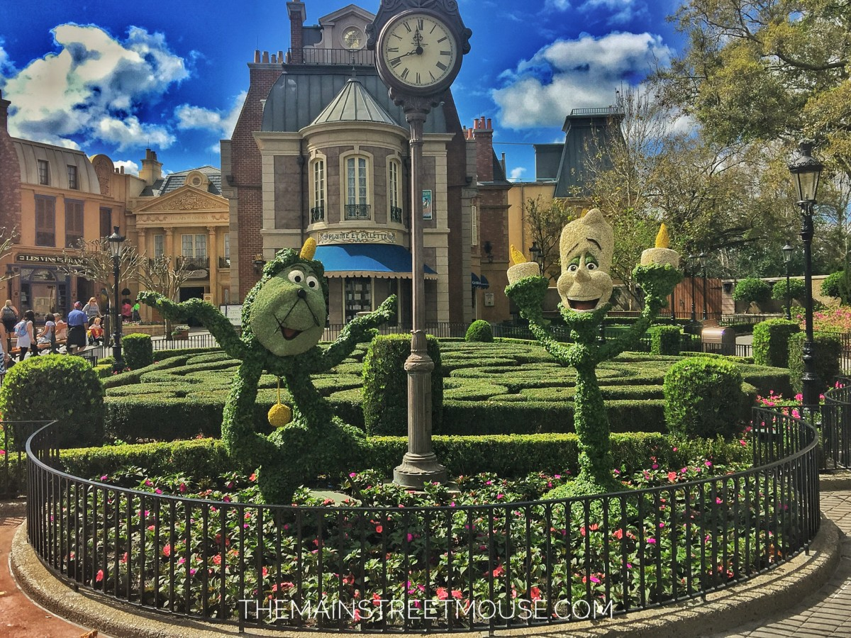 Take A Look At Epcot 39 S Flower And Garden Festival Videos On The Link The Main Street Mouse