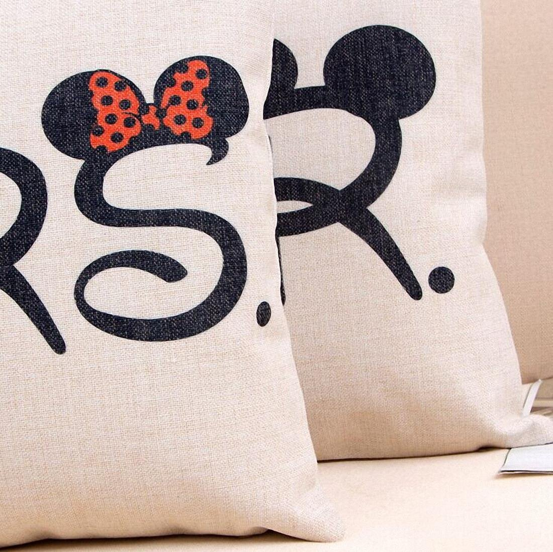 Mickey & Minnie Throw Pillows 4