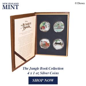 New Zealand Mint Presents The Jungle Book Coin Set 1