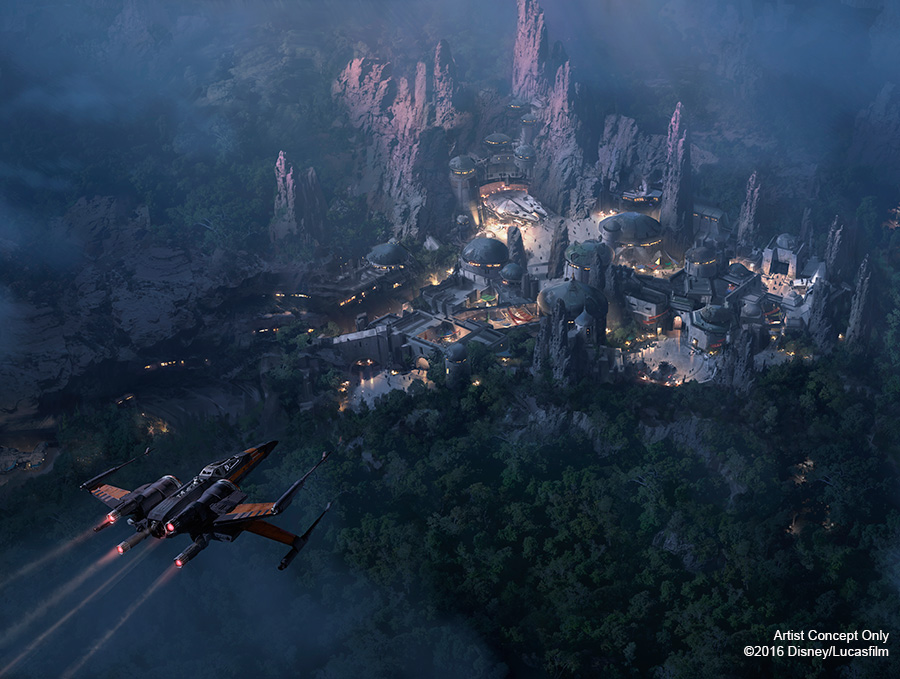 Breaking News! Star Wars-Themed Lands at Disney Parks Set to Open in 2019 1