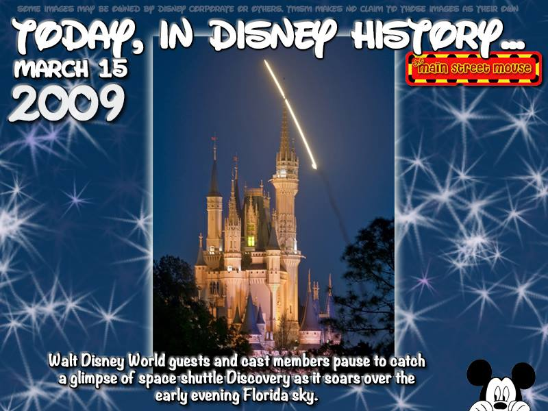 Today In Disney History ~ March 15th 3