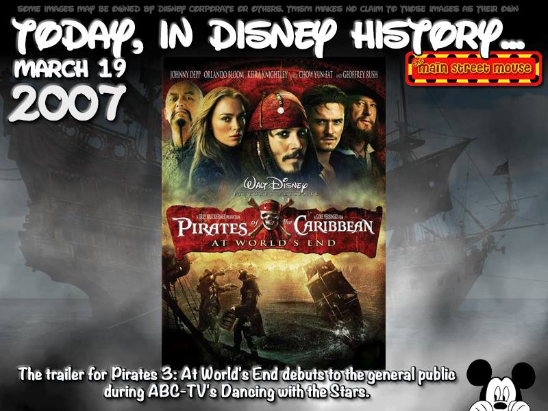 Today In Disney History ~ March 19th 3