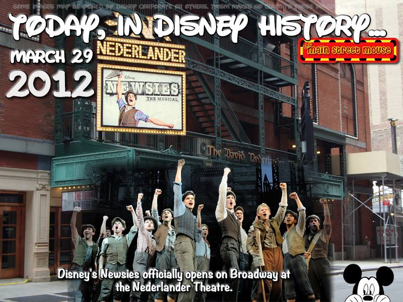 Today In Disney History ~ March 29th 2