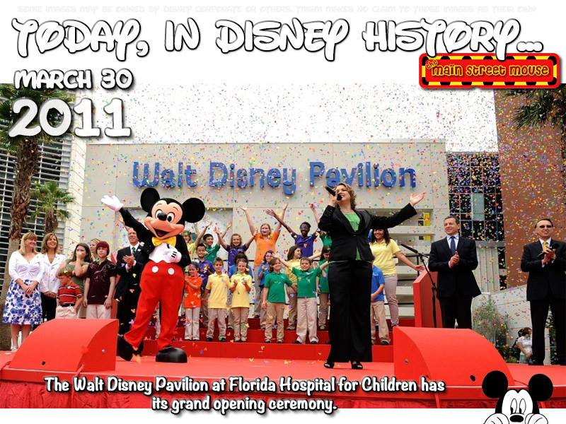 Today In Disney History ~ March 30th 4