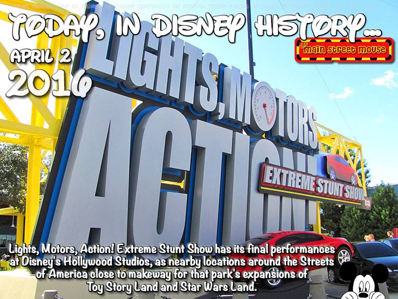 Today In Disney History ~ April 2nd 5