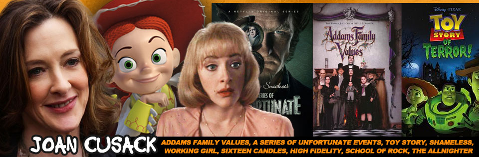 Spooky Empire Starts Today And Welcomes Joan Cusack Aka Jessie From