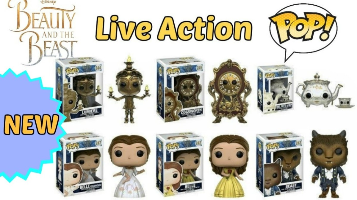 Beauty And The Beast Pop! Vinyls 1