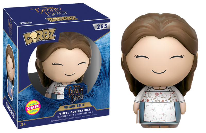 Beauty And The Beast Pop Vinyls