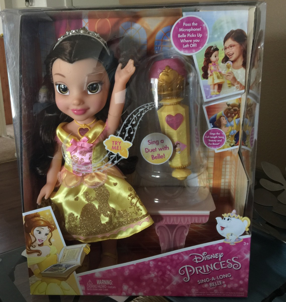 Walmart Exclusive Doll ~ Sing-A-Long Belle 37