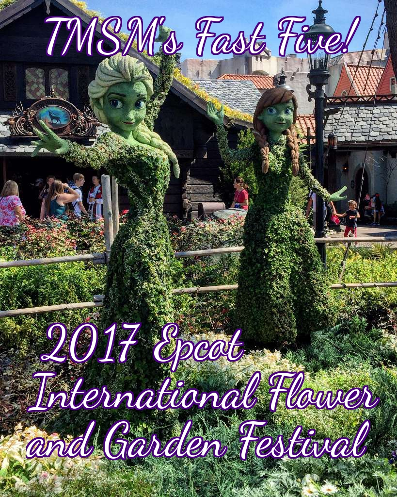 See the Epcot Flower and Garden Festival in Less than 5 Minutes! (link below) #freshepcot 25