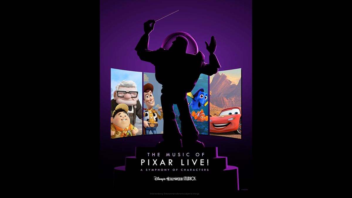 New Show 'The Music of Pixar Live!' Coming To Disney's Hollywood Studios This Summer 2