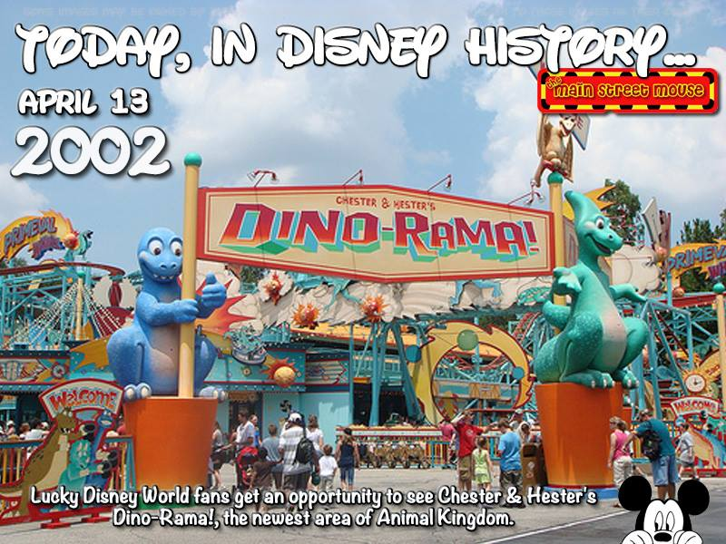 Today In Disney History ~ April 13th 8