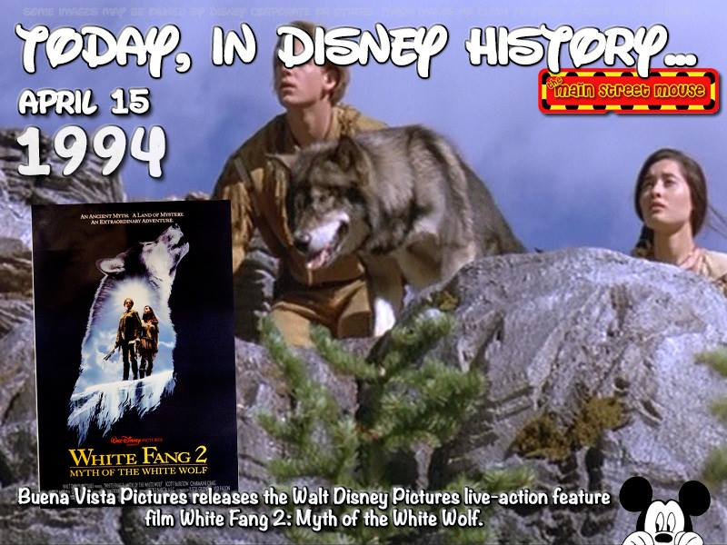 Today In Disney History ~ April 15th 7