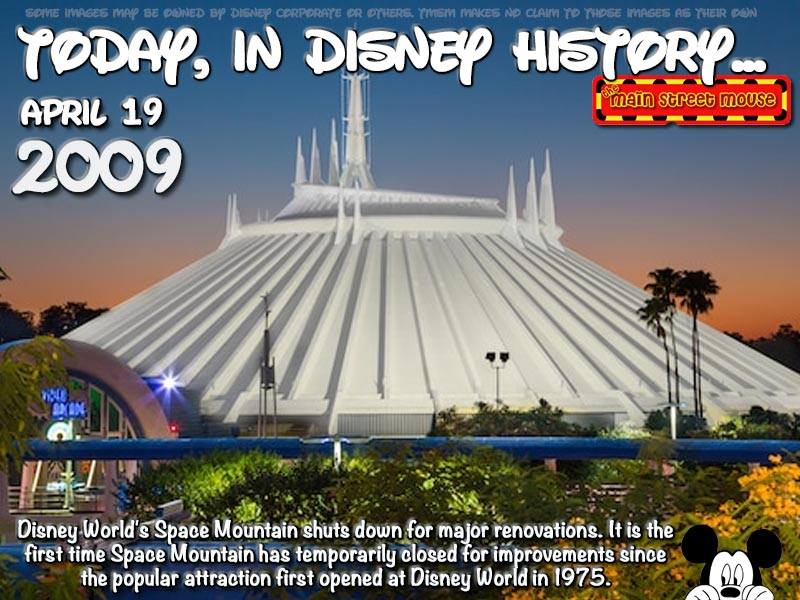 Today In Disney History ~ April 19th 1