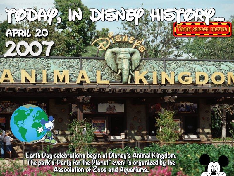 Today In Disney History ~ April 20th 5